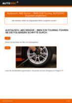 Wann Sensor Raddrehzahl austauschen: PDF Anleitung für BMW 5 Touring (E39)