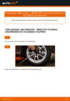 Gratis handleiding voor het ABS Sensor vernieuwen BMW 5 Touring (E39)