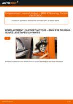 Comment changer : support moteur gauche sur BMW E39 touring - Guide de remplacement