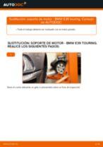 Cambiar Kit de accesorios, pastillas de frenos BMW 5 SERIES: manual de taller