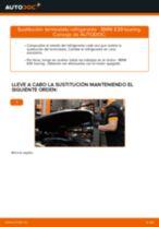 Cómo cambiar: termostato refrigerante - BMW E39 touring | Guía de sustitución