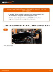 Vervanging uitvoeren: Thermostaat BMW 5 SERIES