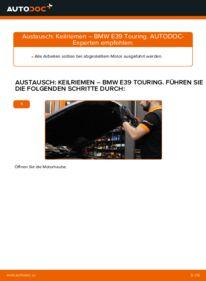Wie der Wechsel ausgeführt wird: Keilrippenriemen beim BMW 5 SERIES