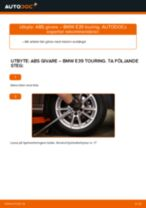 Byta ABS givare bak på BMW E39 touring – utbytesguide