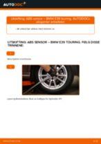 Mekanikerens anbefalinger om bytte av BMW BMW E39 Touring 525i 2.5 ABS Sensor