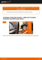 Wymiana Drążek skrętny tylne lewy Opel Insignia B Sports Tourer: poradnik pdf