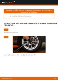 Slik bytter du ABS Sensor på BMW 5 SERIES