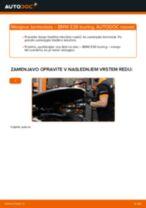 Navodila po korakih za popravilo BMW E61