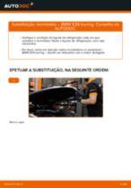 Como mudar termóstato em BMW E39 touring - guia de substituição