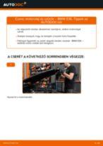 Motorolaj és szűrők-csere BMW E36 gépkocsin – Útmutató