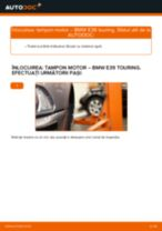 Cum să schimbați: tampon motor din stânga la BMW E39 touring | Ghid de înlocuire