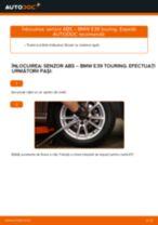 Schimbare Senzor turatie roata BMW 5 SERIES: online ghidul