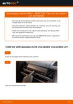 Hoe Pollenfilter vervangen en installeren BMW 3 SERIES: pdf tutorial
