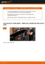 Spurstangenkopf auswechseln BMW 3 SERIES: Werkstatthandbuch
