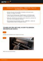 Innenraumfilter erneuern null null: Werkstatthandbücher