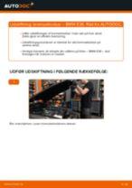 Udskift bremseklodser for - BMW E36   Brugeranvisning