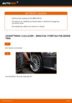 Udskift hjullejer for - BMW E36   Brugeranvisning