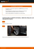 Cambiar Cojinete de Rueda BMW 3 SERIES: manual de taller