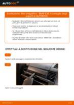 Sostituzione Filtro abitacolo BMW 3 SERIES: pdf gratuito