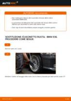 Come cambiare cuscinetto ruota della parte anteriore su BMW E36 - Guida alla sostituzione