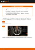 Cambio Asta puntone stabilizzatore posteriore e anteriore BMW da soli - manuale online pdf