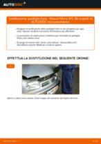Manuale d'officina per Nissan Micra k12 Cabrio online