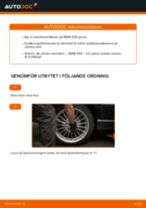 Hur byter man och justera Krängningshämmarstag BMW 3 SERIES: pdf instruktioner