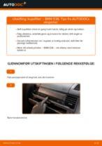 Slik bytter du kupefilter på en BMW E36 – veiledning