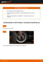 Slik bytter du stabilisatorstag bak på en BMW E36 – veiledning