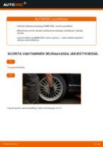 Kuinka vaihtaa koiranluu taakse BMW E36-autoon – vaihto-ohje