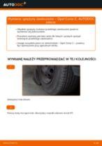 Jak wymienić sprężyny zawieszenia przód w Opel Corsa C benzyna - poradnik naprawy