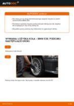 Jak wymienić łożysko koła przód w BMW E36 - poradnik naprawy