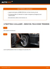 Slik bytter du Hjullager på BMW 3 SERIES