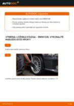 Ako vymeniť predné ložisko kolesa na BMW E36 – návod na výmenu