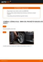 Jak vyměnit přední ložisko kola na BMW E36 – návod k výměně