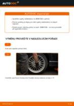 Jak vyměnit zadní tyčky stabilizátora na BMW E36 – návod k výměně
