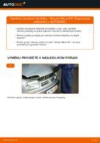 Naučte se jak opravit problémy s zadní a přední Brzdové Destičky NISSAN