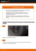 Πώς να αλλάξετε ελατήρια ανάρτησης εμπρός σε Opel Corsa C βενζίνη - Οδηγίες αντικατάστασης