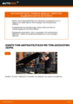 Πώς να αλλάξετε τακάκια φρένων εμπρός σε BMW E36 - Οδηγίες αντικατάστασης