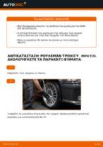 Πώς να αλλάξετε ρουλεμάν τροχού εμπρός σε BMW E36 - Οδηγίες αντικατάστασης