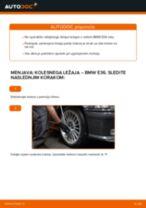 Kako zamenjati avtodel kolesni ležaji spredaj na avtu BMW E36 – vodnik menjave
