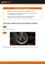 Como mudar e ajustar Pendural da barra estabilizadora BMW 3 SERIES: tutorial pdf