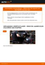 Hoe veerpootlager achteraan vervangen bij een BMW E36 – vervangingshandleiding