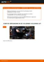Wanneer Stofkap schokdemper BMW 3 (E36) veranderen: pdf tutorial
