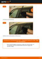 Schritt-für-Schritt-PDF-Tutorial zum Scheibenwischer-Austausch beim Hyundai Tucson jm