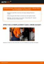 PDF manuel de remplacement: Filtre à huile NISSAN MICRA II (K11)