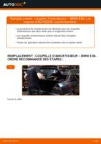 Comment changer : coupelle d'amortisseur arrière sur BMW E36 - Guide de remplacement