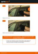 Comment changer : essuie-glaces avant sur Hyundai Santa Fe CM - Guide de remplacement