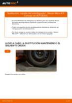 Guía de reparación paso a paso para Nissan Micra k13