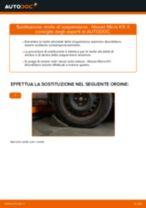 Guida passo passo alla riparazione Nissan Micra k13